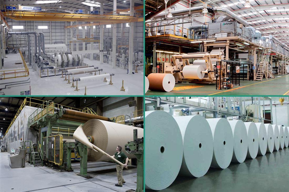 Изготовление бумаги - производство
